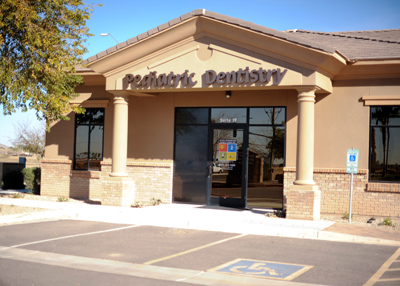 Office Front at the Pediatric Dentist Office in Casa Grande, Mesa and Chandler, AZ