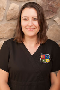 Kimberly, a Dental Assistant at the Pediatric Dentist Office in Gilbert, Mesa and Chandler, AZ