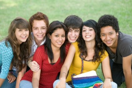 Teens Smiling at the Pediatric Dentist Office in Casa Grande, Mesa and Chandler, AZ